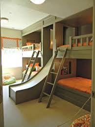 cool kids beds with slide. Cool Childrens Bunk Beds Ideas Design 17 Best Images About Kids Rooms Built Ins On With Slide B