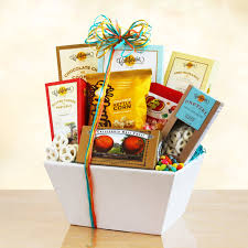 california snacks gift basket