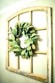 magnolia wall decor wall wreath window frame wall decor window frame wall decor fixer upper magnolia