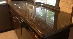 countertop kitchen decoration ideas dark ideas coffee brown granite countertops