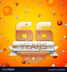 Sixty Design Sixty Six Years Anniversary Celebration Design