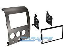 nissan armada radio parts accessories new double 2 din car stereo radio dvd player dash installation mounting kit fits
