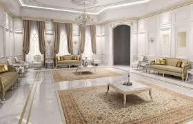 Imperial Interior Design Classic Luxury Villa Interior Design Doha Qatar Cas