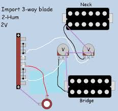 2 humbucker wiring diagram 3 way switch 2 image guitar wiring diagram 2 humbucker volume 1 tone images duncan on 2 humbucker wiring diagram 3 humbuckers 3 way toggle switch