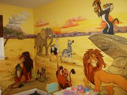 Lion King Wallpaper For Bedroom Lion King Omg If Dustin Would Let Me Do This To Our Baby Room I