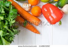 vegetable corner border. Perfect Border Fresh Vegetable Corner Border With Copy Space On White Wood A Red  Pepper Carrots Throughout Vegetable Corner Border C
