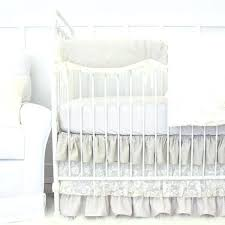 caden lane baby bedding c crib linen lace rail cover