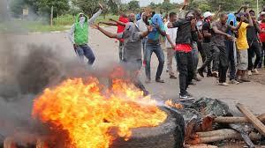 Image result for mnangagwa refuses to take responsibility for zimbabwe unrest