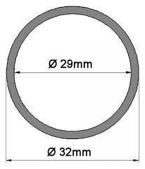 Details Zu E14 Fassungshülse Kerzenhülsen ø 2932mm Glas Weiß 4 Höhen 65 140mm Lüster