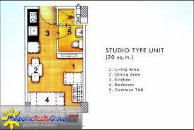 Studio Unit 20 sqm