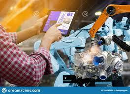 Mechanical Engineering Robots Engineer Touch Screen Control Robot The Production Of
