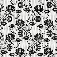 seamless background with lace fl pattern