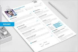 Gallery Of 50 Beautiful Free Resume Cv Templates In Ai Indesign Psd