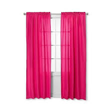 sweet jojo designs pink white chevron window panels 55 liked on polyvore target curtainspink
