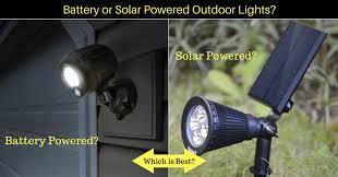 solar vs battery powered outdoor lights fb ad
