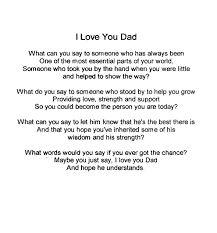 Small Picture Daddy I Love You Poem D8b9d5e73b6396111cc6470708db2c3bjpg
