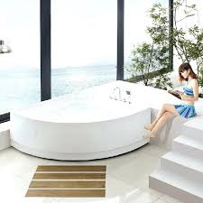 small corner hot tub whirlpool bathtub modern bathroom furniture ideas