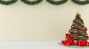 Christmas Wood Wall Floor Tree Template Background