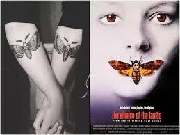 15 крутых татуировок вдохновлённых фильмами ужасов
