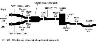 chrysler concorde exhaust diagram from best value auto parts 1995 chrysler concorde exhaust diagram