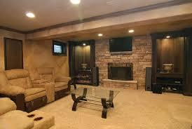 basement finishing design. Full Size Of Basement: Elegant Finished Basement Brick Wall Design Tv Stand With Fireplace And Finishing
