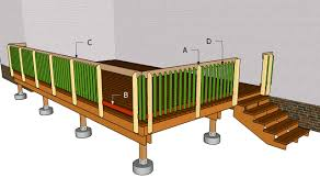 deck railing plans myoutdoorplans free woodworking plans and projects diy shed wooden playhouse pergola bbq