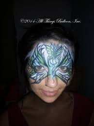 birthday party face painter exotic erfly