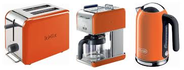 Orange Kitchen Small Kitchen Appliances