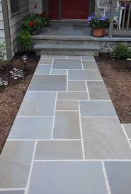 Awesome Bluestone Pavers For Pathway In Patio Design Ideas Charming