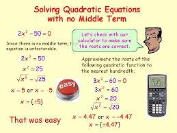quadratic function is an equation