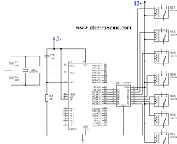component relay flasher circuit terminal diagram indicator archive Simple Fog Light Relay Wiring Diagram interfacing relay with using keil c at89c51 uln2003 12v relays explained relay for light Fog Light Relay Kit