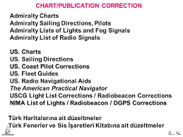 British Admiralty Charts List Chart Publication Correction Ppt Download