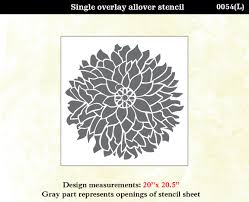 green interior designs including flower stencils for walls gallery home wall decoration ideas good large flower stencils for walls