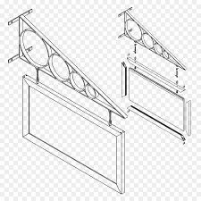 technical drawing isometric projection exploded view drawing plan suspended