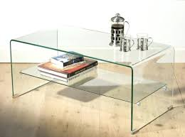 Small Glass Coffee Tables Theltco With Small Glass Coffee Tables