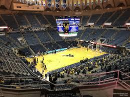 Wvu Coliseum Section 235 Rateyourseats Com