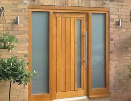 solid oak front door solid wood front doors for homes uk