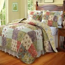 Country Patchwork Bedspreads And Throws Country Patchwork Bedding ... & ... Country Cottage Patchwork Cotton Quilt Set Country Patchwork Quilts  Cookeville Tn Country Patchwork Bedspreads And Throws ... Adamdwight.com