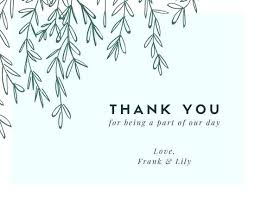 Blank Thank You Card Template Word Business Thank You Card Template