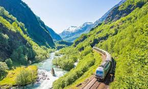 scenic rail journeys in norway with