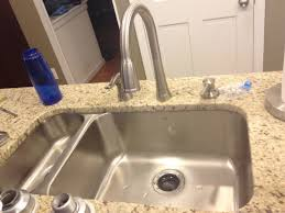 Kitchen Superb Double Sink Clogged Backs Into Other Side Drain Kit