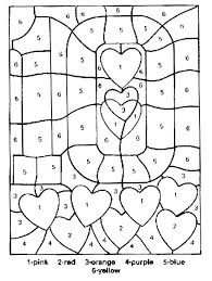 Pixel Art Color By Number Coloring Pages Color Number Pages Color