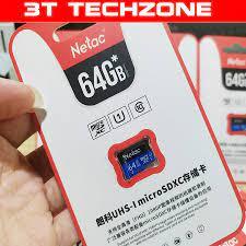 Thẻ nhớ MicroSD 64Gb Netac U1 Class 10 [ có sẵn ] - Thẻ nhớ máy ảnh Hãng No  brand