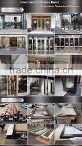 Entrance Door Frame Design High Quality Commercial Glass Door Frame Stainless Steel