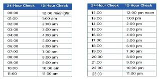 24 Hr Time Chart Elapsed Time Worksheets 24 Hour 2nd