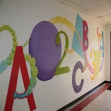 Small Picture Wall Art Ideas Design Purple Preschool Wall Art Sample