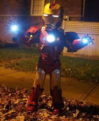 DIY Toddler Ironman Halloween Costume