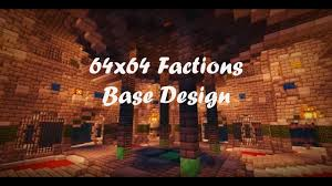 Factions Base Design Schematic 64x64 Factions Base Tour Minecraft Faction Interior Design Ep 7 With Download