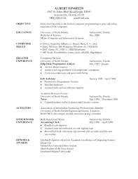 Writing Resumes And Cover Letters Examples For High School Students