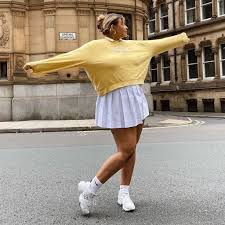 Well here are 12 outfit ideas on how to style tennis skirts in 2021! How To Wear A Tennis Skirt And Where To Shop Them Popsugar Fashion